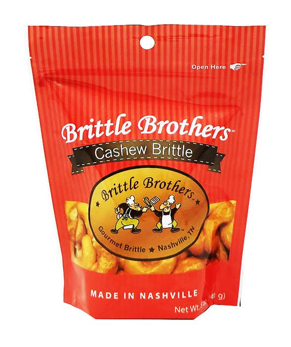 Brittle Brothers - Cashew Brittle - 5 oz. Bag (Retail)