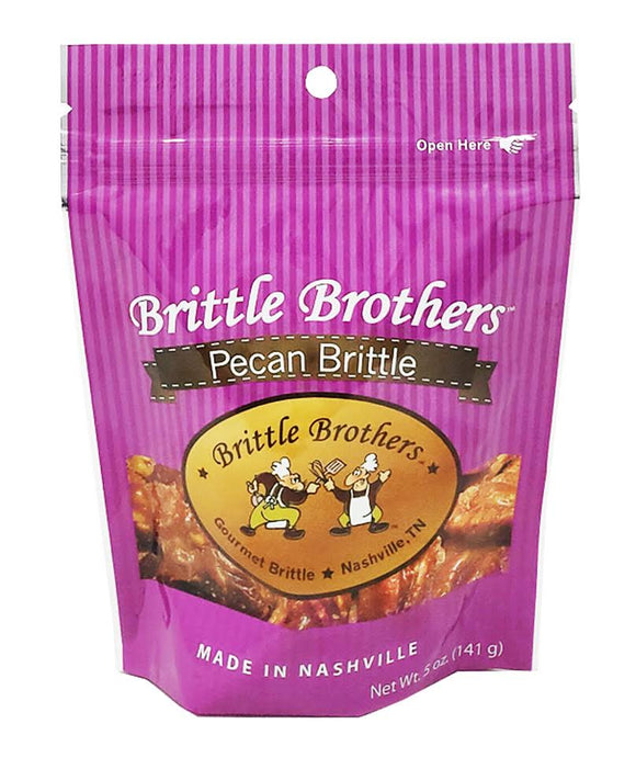 Brittle Brothers - Pecan Brittle - 5 oz. Bag (Retail)