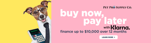 Buy now, pay later - Finance your purchase at Pet Pro Supply Co. with Klarna