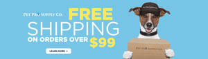 Free Shipping on Orders Over $99 at Pet Pro Supply Co.