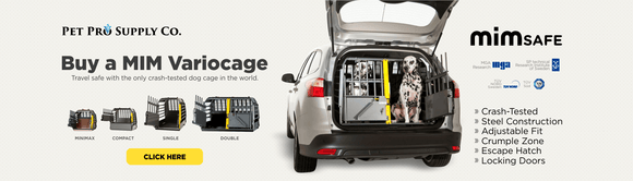 Buy a MIM Variocage Crash-tested Crate at Pet Pro Supply Co.