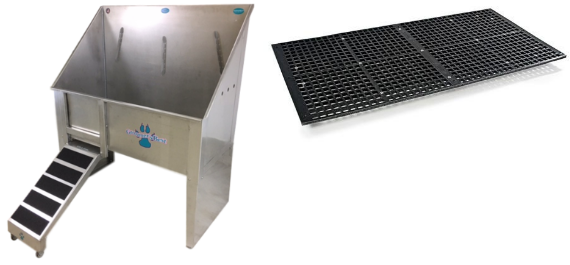 Groomer's Best Tubs with FREE Floor Grate