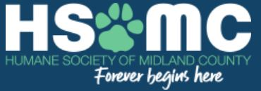 The Humane Society of Midland County Michigan - Charity Supported by Pet Pro Supply Co.