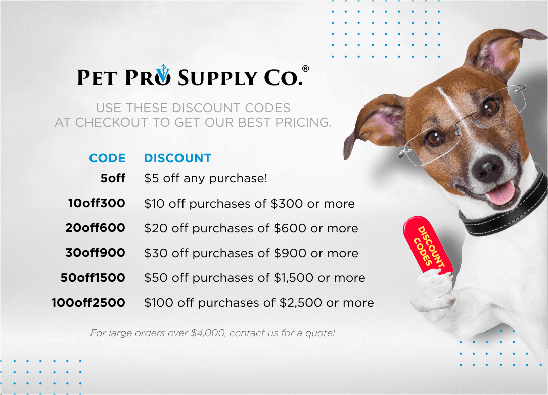 Discount Codes at Pet Pro Supply Co.