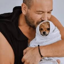 Sasha Riess - wrap your dog in a warm towel and give him or her 5-10 minutes of love!