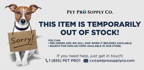 Item is Out Of Stock at Pet Pro Supply Co.