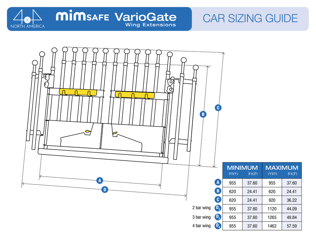 Mim Variogate Best Dog Car Barrier Gate For Suv Pet Pro Rover 620 Wiring Diagram Variobarrier Wing Extensions
