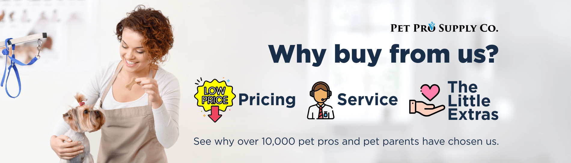 Why Buy From Pet Pro Supply Co.?