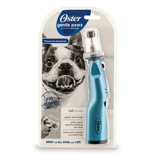 Oster Gentle Paws Nail Grinder - Blue - Pet Pro Supply Co