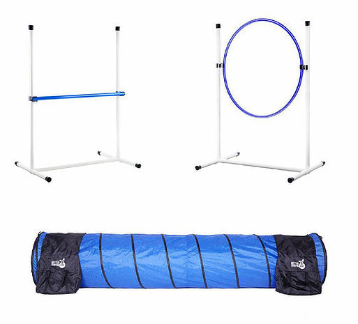 Better Sporting Dogs 3 Piece Essential Dog Agility Equipment Set