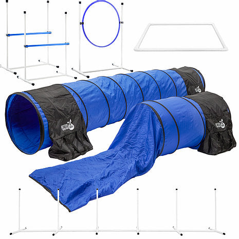 Better Sporting Dogs 7 Piece Deluxe Dog Agility Equipment Set