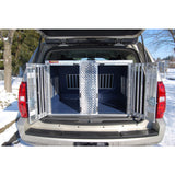 Owens Hunter Aluminum Double Dog Box for Chevy Tahoe & GMC Yukon at Pet Pro Supply Co. - 1