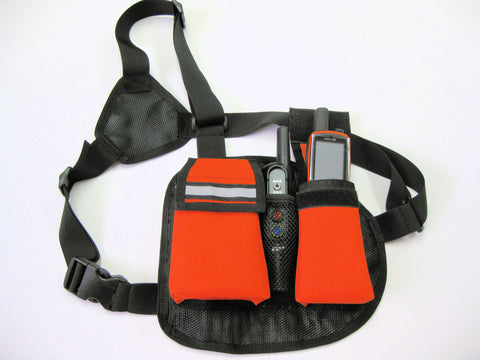 Grain Valley Chest Pack Gear Bag and Organizer with Harness
