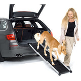 "KleinMetall Dog Walk Expandable 3-Section Aluminum 28.75""-64"" Dog Ramp at Pet Pro Supply Co. - 1"