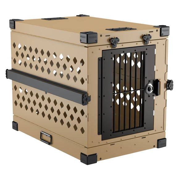 Impact Portable & Collapsible Heavy Duty Dog Crate w/ Optional Airline Kit - Pet Pro Supply Co.