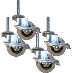 Accessories - Groomer's Best Lockable Casters - Set Of 4 Locking Caster Wheels - Pet Pro Supply Co