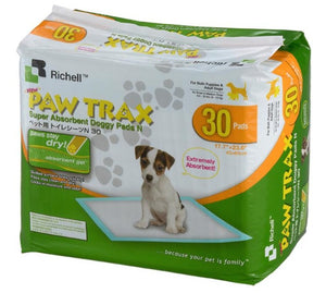 Richell PAW TRAX Doggy Pads - Pet Pro Supply Co. - Pet Pro Supply Co