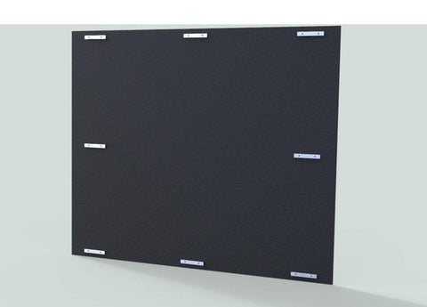 TK Products Dog Kennels Isolation Panel HDPE - Black