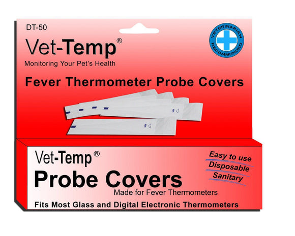 AMC Vet-Temp Probe Covers For Digital Thermometers