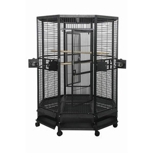 Aviary - A&E Octagon Parrot Cage - Pet Pro Supply Co