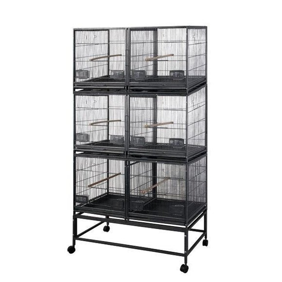 Aviary - A&E Six Unit Breeder Cage With Dividers