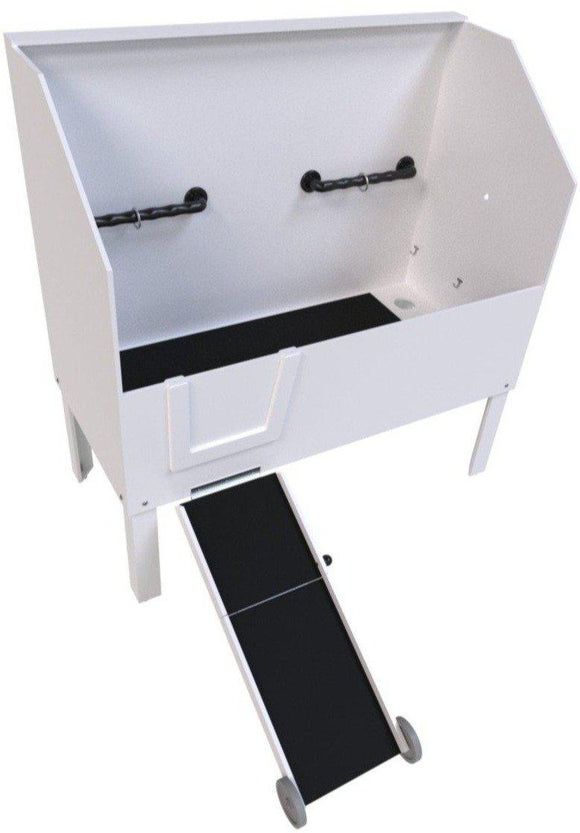 Bath Tubs - Poly Pet Tubs Professional Dog Grooming Tub With Ramp 58
