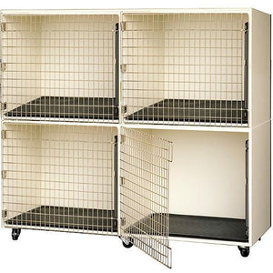 PetLift Professional Commercial-Grade Veterinary & Grooming Cage Banks - Pet Pro Supply Co. - Pet Pro Supply Co