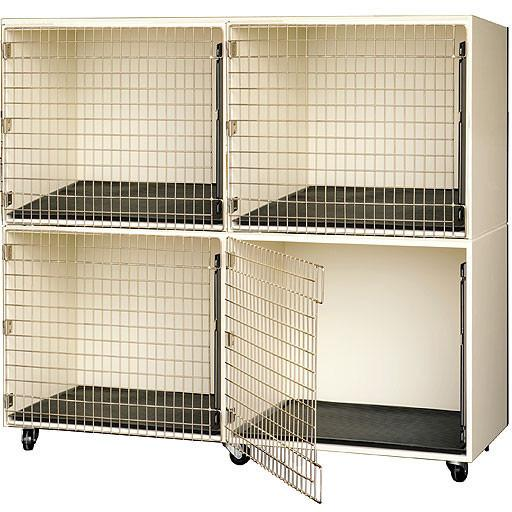 PetLift Professional Commercial-Grade Veterinary & Grooming Cage Banks - Pet Pro Supply Co.