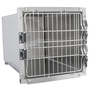 "Cage Banks - Shor-Line Stainless Steel Single Cage, 18""W Series - Pet Pro Supply Co"
