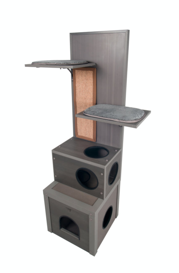 New Age Pet Kitty Klimber Play Structure - Pet Pro Supply Co.