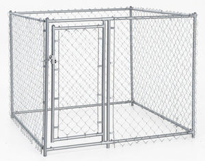 Lucky Dog Galvanized Chain Link Kennel - Pet Pro Supply Co. - Pet Pro Supply Co