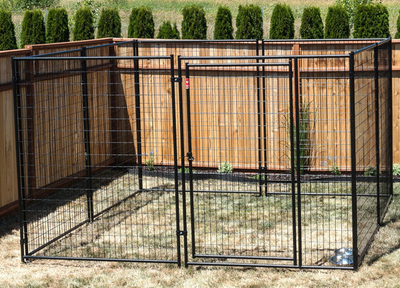 Lucky Dog™ Modular Box Kennel - (6'H x 10'L x 10'W); 200 lbs - Pet Pro Supply Co.