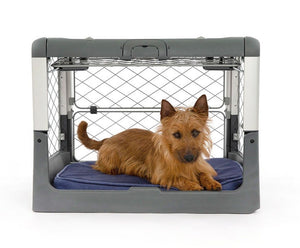Crates - Diggs Revol Crate - Flat-folding, Collapsible, Sturdy Wire Dog Crate - Pet Pro Supply Co