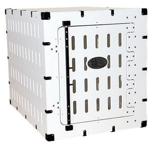 Crates - KBC Kennels FLIGHT CRATE COMBO - Heavy Duty Dog Crate + Flight Kit - Pet Pro Supply Co