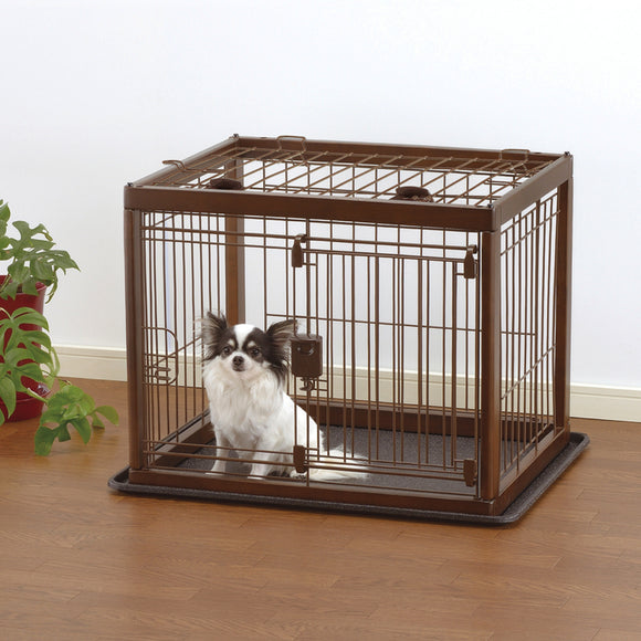 Richell Wooden Pet Crate - Pet Pro Supply Co.