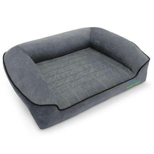 Dog Bed - BuddyRest Romeo Orthopedic Bolster Dog Bed