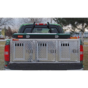 Owens - Aluminum Dog Box for trucks (Triple) - Pet Pro Supply Co. - Pet Pro Supply Co