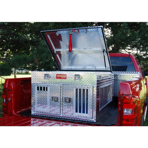 Owens Hunter All Seasons Aluminum Double Dog Box - Pet Pro Supply Co. - Pet Pro Supply Co