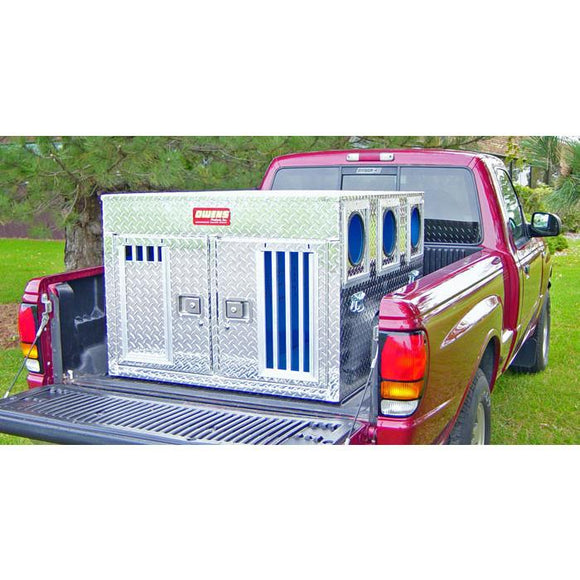 Owens Hunter Aluminum Bear/Cat Double Dog Box - Pet Pro Supply Co.