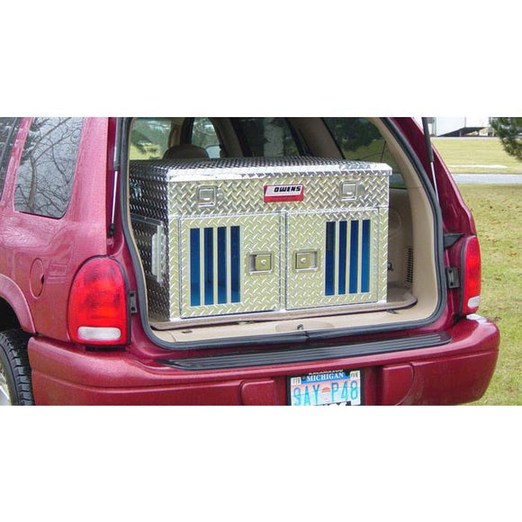 Owens Hunter Aluminum Double Dog Box - Pet Pro Supply Co.