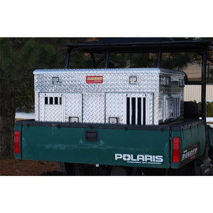Owens Pro Hunter Aluminum Double UTV Dog Box w/ Storage - Pet Pro Supply Co. - Pet Pro Supply Co