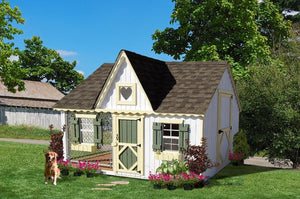 Little Cottage Co. - Cozy Cottage Dog House & Kennel - Pet Pro Supply Co. - Pet Pro Supply Co