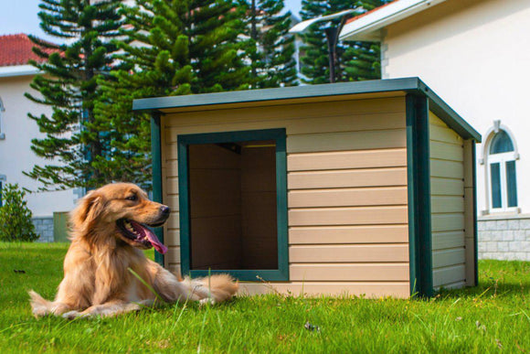 New Age Pet Rustic Lodge Dog House - Pet Pro Supply Co.
