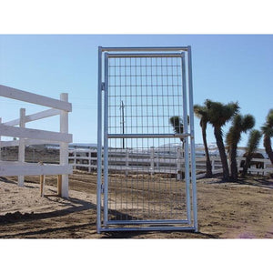 Dog Kennels Single Panel - Rhino Heavy Duty Dog Kennel Single Panel With Gate - Pet Pro Supply Co