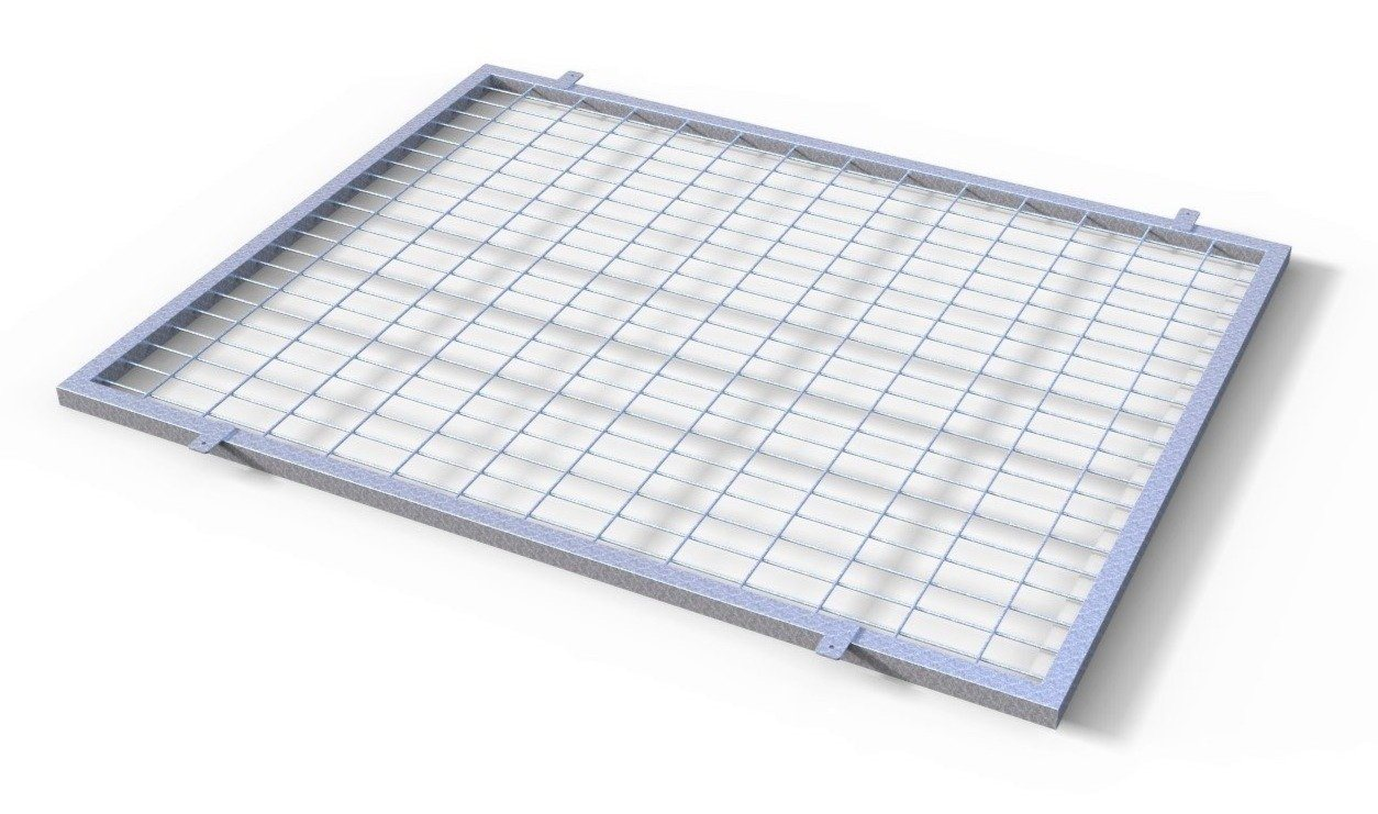 Tk Products Pro-series Kennel Roof Top Mesh Panel