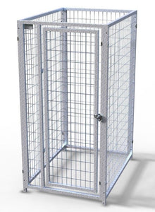 Dog Kennels - TK Products Pro-Series Dog Kennels - Indoor/Outdoor Welded Wire Enclosed Single Kennel - Pet Pro Supply Co
