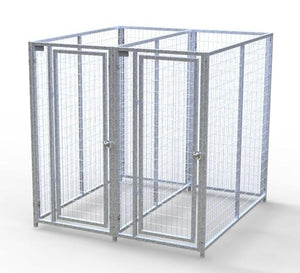Dog Kennels - TK Products Pro-Series Enclosed Multi-Run Dog Kennels - Indoor/Outdoor Welded Wire - Pet Pro Supply Co