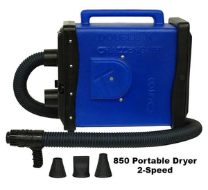 Double K ChallengAir 850 Portable Forced Air Dryer - Pet Pro Supply Co. - Pet Pro Supply Co