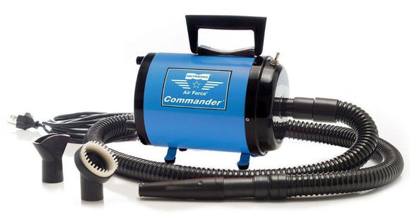 Metrovac Air Force Commander Multi-Speed Dog & Pet Dryer - Pet Pro Supply Co.