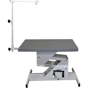 Edemco F975000 HyPro Hydraulic Grooming Table with Grooming Swing Arm - Pet Pro Supply Co. - Pet Pro Supply Co